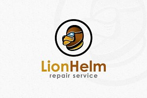 Lion Helm Logo