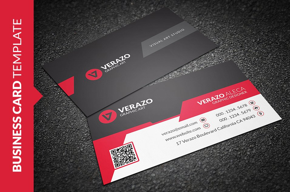 Stylish corporate business card business card templates creative stylish corporate business card business card templates creative market accmission Gallery