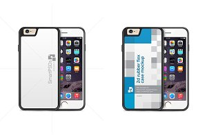 iPhone 6s2d Rubber Phone Case Mockup