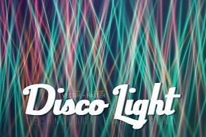 Vector Disco Light Background Set