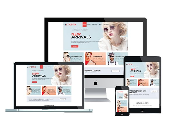 Joomla Themes: LTheme - LT Optik - Glasses Joomla Template