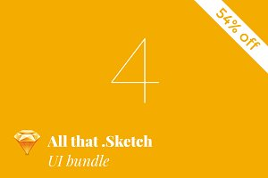All that .Sketch 54% off