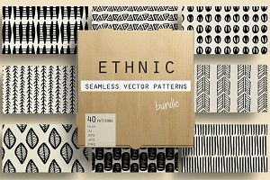 Ethnic Handdrawn Patterns