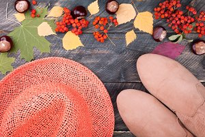 Autumn clothing and accesories