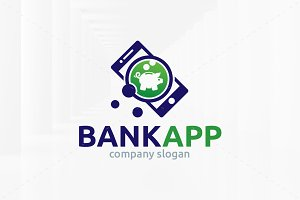 Bank App Logo Template