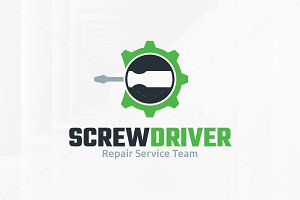 Screwdriver Logo Template