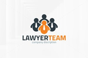 Lawyer Team Logo Template