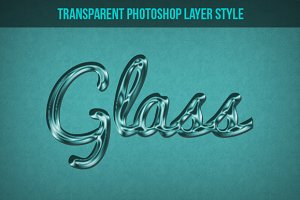 Glass Effect Photoshop Layer Style