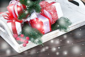 Cristmas gifts box