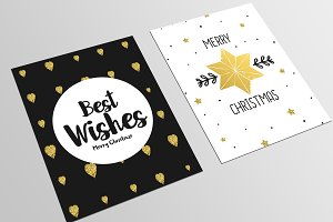 Set of Christmas Flyer Templates