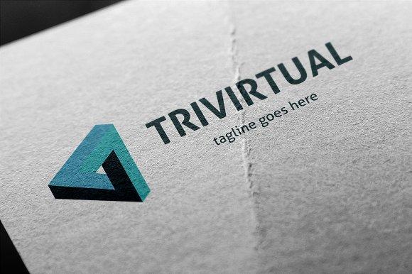 Trivirtual Logo in Logo Templates