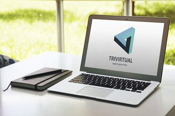 Trivirtual Logo in Logo Templates - product preview 1