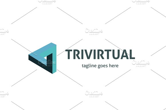 Trivirtual Logo in Logo Templates - product preview 3