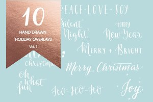 Holiday Overlays Vol. 1