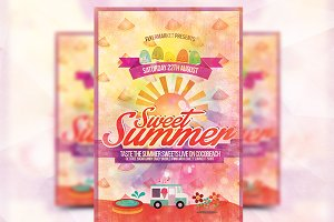 Sweet Summer - Flyer Template
