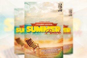 Summer Beach - Flyer Template