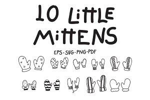 10 Little Mittens