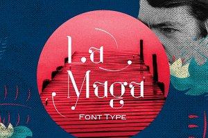 La Maga Font Type