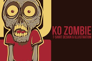 KO Zombie Illustration