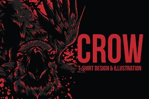Crow Illustration