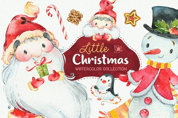 Little Christmas. Holiday collection - Illustrations