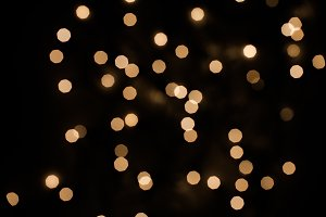 Golden Night Bokeh 1