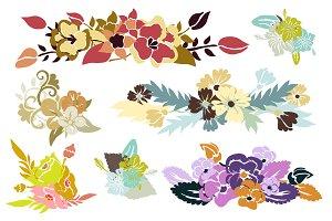 Floral Bouquets Set(2)