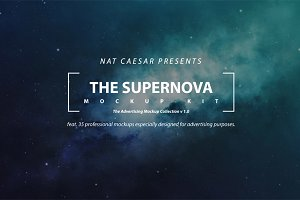 The Supernova Mockup Kit