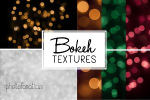 8 Holiday Bokeh Lights Photos