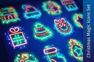 Christmas Magic Icons