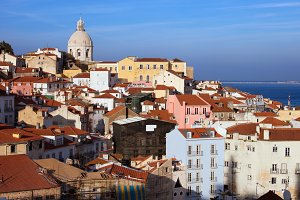 City of Lisbon Cityscape