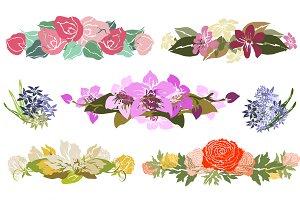 Floral Bouquets Set(4)