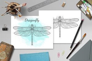 Sacred Dragonfly