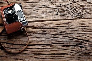 Old rangefinder camer