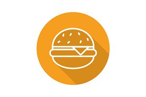 Hamburger icon. Vector