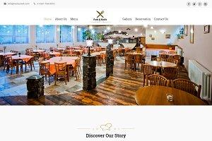 Fork Knife-Restaurant HTML Template