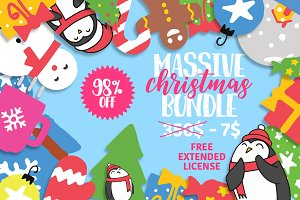 Christmas Bundle 98% OFF