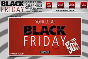 Black Friday Campaign Graphics