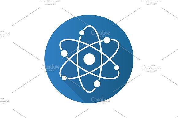 Atom icon. Vector - Icons