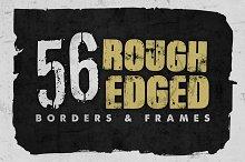 Rough Edged Borders & Frames
