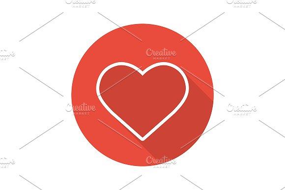 Heart Shape Icon Vector
