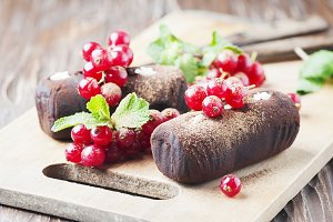 Russian cakes truffle potatoes