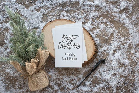 Rustic Christmas Photos
