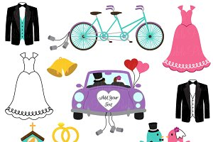 Wedding Clipart and Vectors