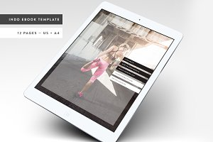Fitness Modern Ebook Template