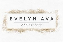 Evelyn Ava Premade Logo Template