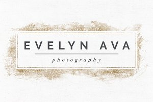 Evelyn Ava Premade Logo Template