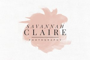 Savannah Claire Logo Template
