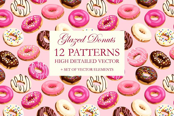 Donuts Patterns
