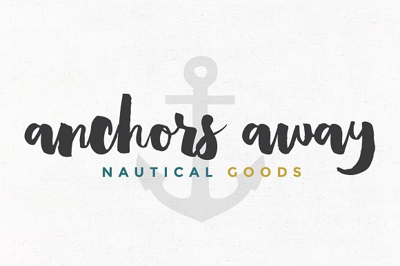 Anchors Away Premade Logo Template